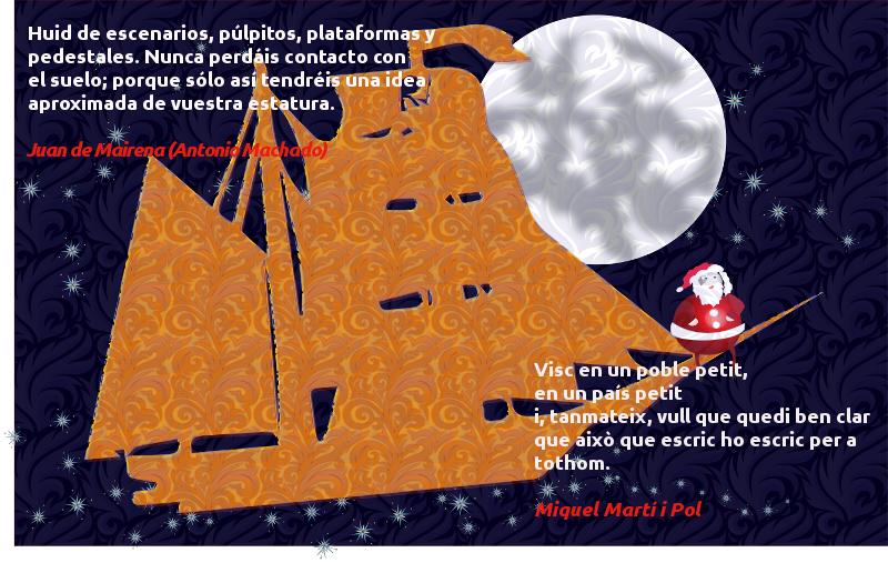 Bones festes i els millors desitjos pel 2014 / Felices Fiestas y los mejores deseos para el 2014