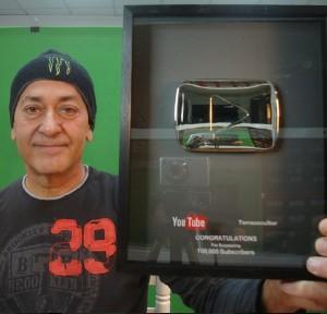 Premio Youtube a Terrazocultor