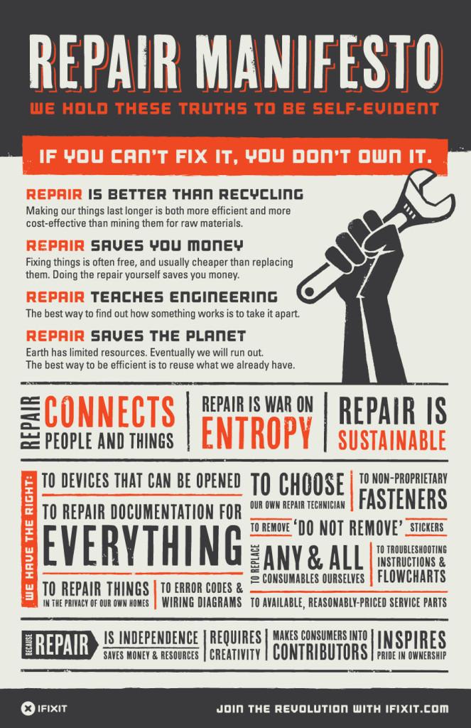 Proyecto didáctico Si no lo puedes reparar no es tuyo
